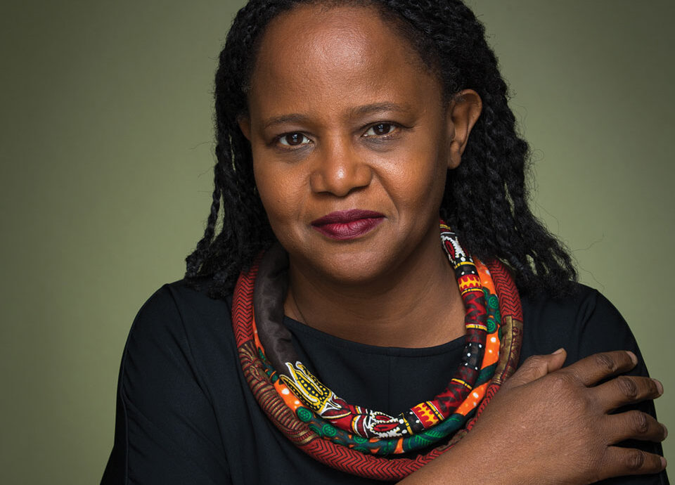 Color portrait of Edwinge Danticat